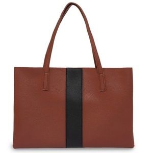 Vince Camuto Red Desert Luck Tote